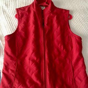 Columbia XL vest, Red